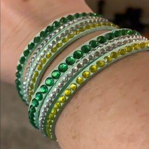 Jewelry - Women's faux leather wrap bracelet.